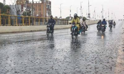محکمہ موسمیات کی پنجاب اور سندھ کے بعض علاقوں میں بارش کی پیشگوئی