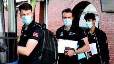 نیوزی لینڈ ٹیم خصوصی طیارہ سے یو اے ای کے لیے روانہ