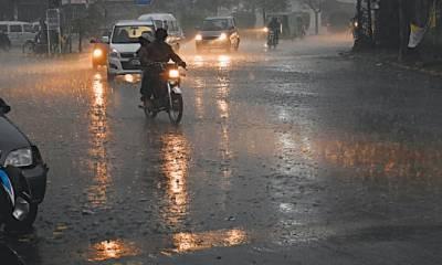 ملک کے چند مقامات پرتیز ہواﺅں اورگرج چمک کےساتھ بارش کا امکان