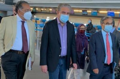وزیر خارجہ شاہ محمود قریشی 5 روزہ دورے پر نیویارک پہنچ گئے