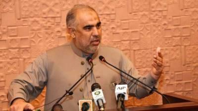 کشمیر کے مسئلے کا حل بندوق سے نہیں، ووٹ سے کرایا جائے. اسد قیصر