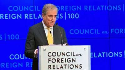 تعمیر نو کیلئے افغان عوام کی مدد کی جائے: وزیر خارجہ شاہ محمود قریشی