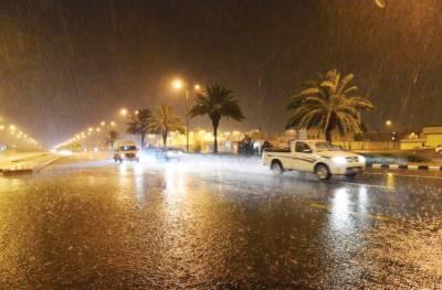 سعودی عرب: مختلف شہروں میں گرج چمک اور تیز ہواؤں کے ساتھ بارش کا امکان