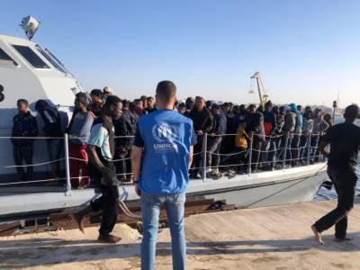 لیبیا کے مغربی ساحل سے 42 غیر قانونی تارکین وطن کو بچا لیا گیا، اقوام متحدہ