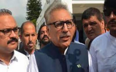 صدر مملکت ڈاکٹرعارف علوی لاہور پہنچ گئے