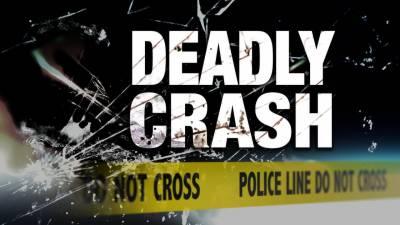مسافر وین اور موٹرسائیکل کے تصادم میں ایک شخص جاں بحق، دو شدید زخمی