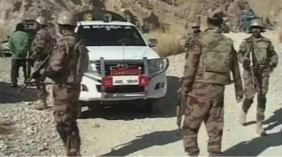 دہشتگردوں کا مچھ میں سکیورٹی فورسز کی چوکی پر حملہ،فائرنگ کا تبادلہ،ایک سپاہی شہید،2زخمی