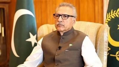 سیاحتی شعبے میں قومی معیشت کو فروغ دینے کی وسیع گنجائش موجود ہے:صدر پاکستان
