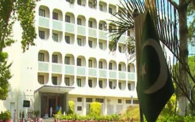 بہیمانہ ظلم وجبر کے ساتھ پاکستان اور کشمیر کے خلاف بھارتی میڈیا کا جھوٹا پراپیگنڈہ بھی تاحال جاری و ساری ہے:ترجمان دفتر خارجہ