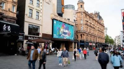 لندن،نیو کیسل اوردبئی میںریاض سیزن کے اشتہارات میں لیونل میسی کی جلوہ نمائی