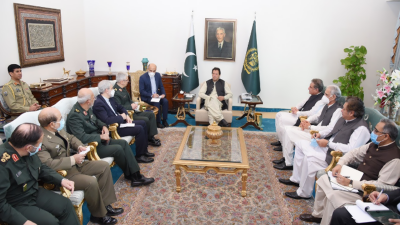 وزیراعظم سے ایران کے چیف آف جنرل سٹاف میجر جنرل محمد باقری کی ملاقات