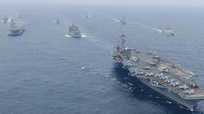 امریکہ، جاپان، آسٹریلیا اور بھارت کی مشترکہ بحری مشقوں 'مالابار 2021' کا آغاز