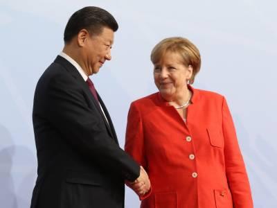 جرمن چانسلر میرکل کی چینی صدر کے ساتھ الوداعی ویڈیو کال