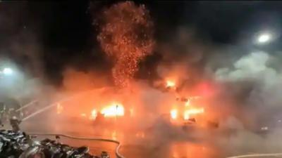 تائیوان میں عمارت میں آتشزدگی سے 40 افراد ہلاک اور متعدد زخمی ہوگئے