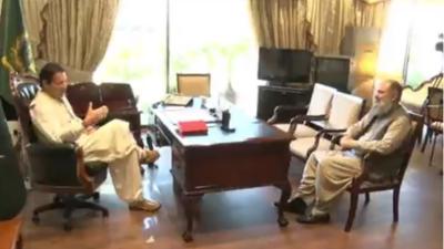 وزیراعظم عمران خان سے وزیرِ اعلیٰ بلوچستان جام کمال خان کی ملاقات