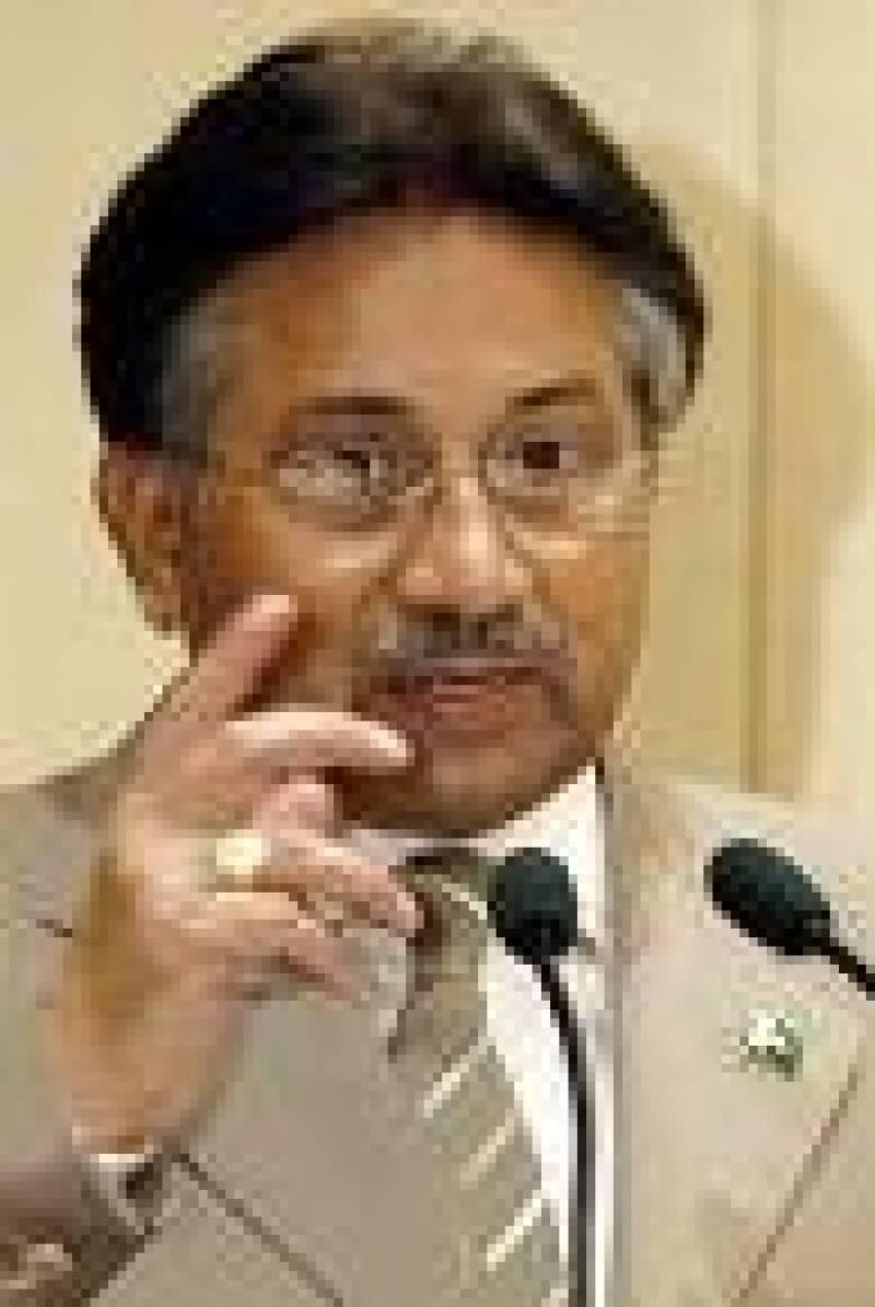پاک فوج کی موجودگی میں بھارت میلی آنکھ سے دیکھنے کی جرات نہیں کر سکتا: مشرف
