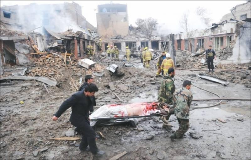 کابل میں خودکش دھماکہ' بھارتی سفارتخانے کے 4 اہلکاروں سمیت 19 ہلاک' 38 زخمی