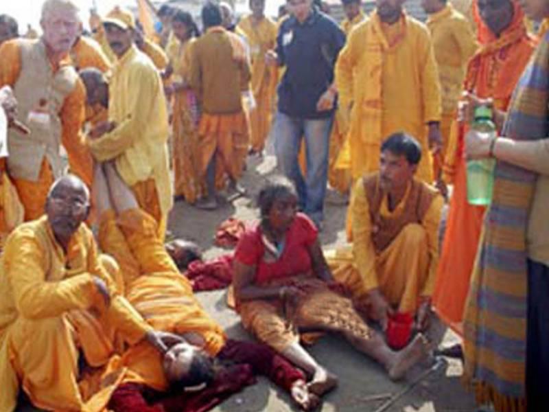 مدھیہ پردیش :مندر میں بھگدڑ سے دو یاتری ہلاک، 24 زخمی
