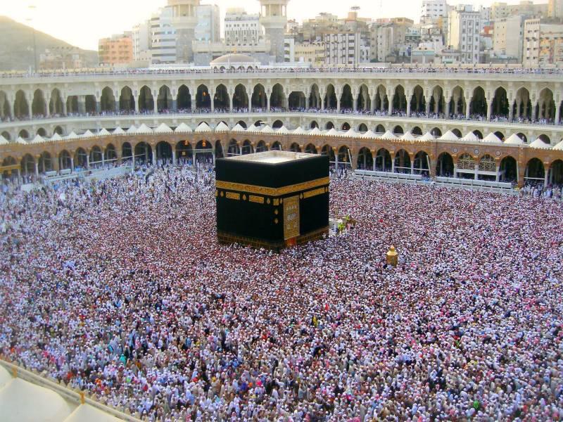 پاکستان سمیت دنیا بھر سے اس برس 30 لاکھ مسلمان حج کی سعادت حاصل کرینگے