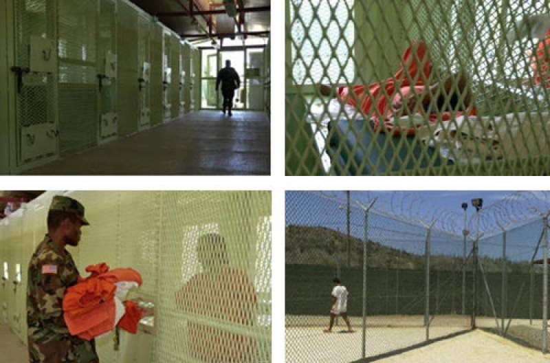 گوانتاناموبے : قیدیوں اور محافظوں میں جھڑپیں' فائرنگ' متعدد زخمی