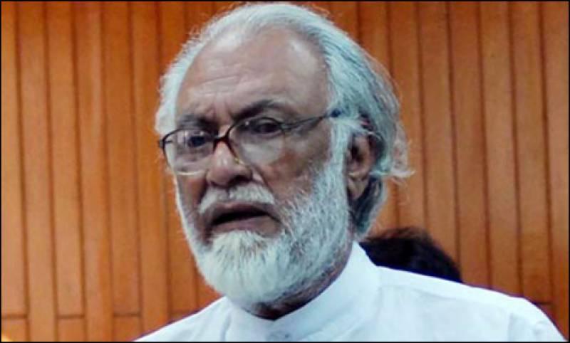 عمران فیصلہ کریں خیبر پی کے کے وزیر اعلیٰ وہ ہیں یا پرویز خٹک: سردار آصف