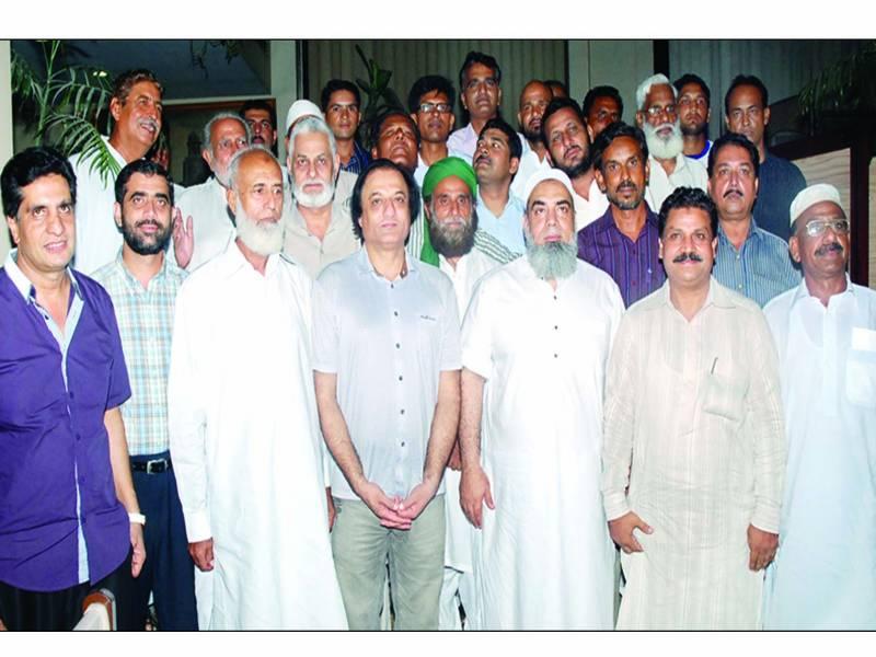 میاں عامر محمود پاکستان ویٹ لفٹنگ فیڈریشن کے چیئرمین منتخب