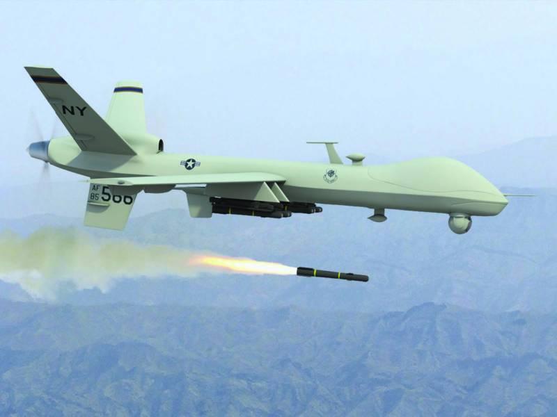 افغانستان : امریکی ڈرون حملے میں مزید 4شہری جاں بحق