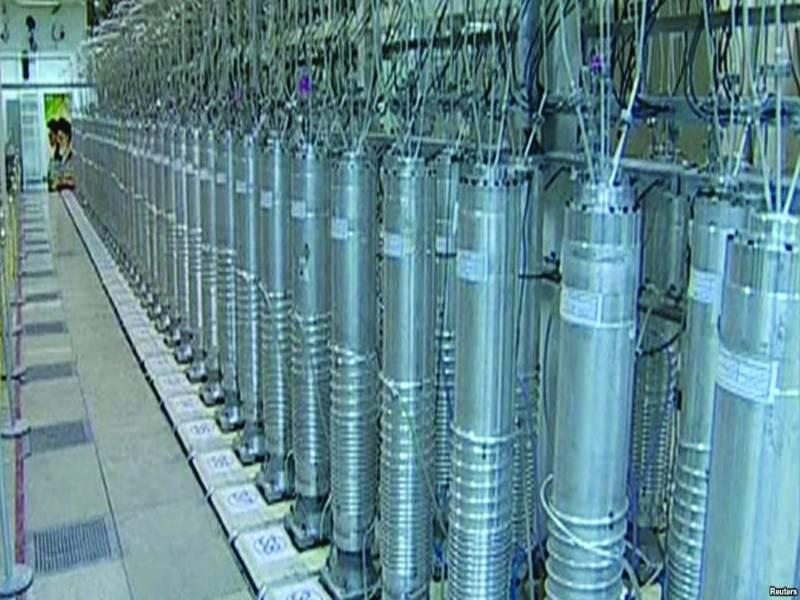 یورینیم افزودگی تیز کرنے کے لئے ایران نے مزید 1000 سنیٹری فیوجز نصب کر دئیے