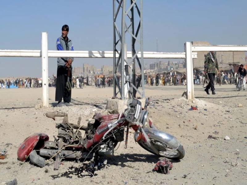 سپن بولدک : موٹرسائیکل بم دھماکہ اور فائرنگ، 2 بچوں سمیت 6 ہلاک