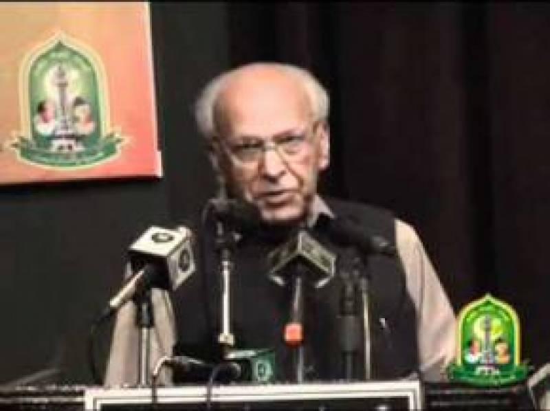 محمود علی نے اپنی زندگی پاکستان کیلئے وقف کر رکھی تھی: ڈاکٹر رفیق احمد
