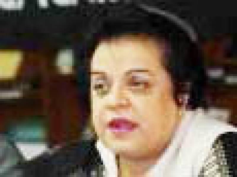پی ٹی آئی کی پیشکش پر حکومت میڈیا کے سامنے مذاکرات کرے: شیریں مزاری