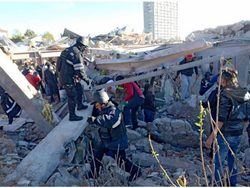 میکسیکو : ہسپتال میں گیس سلنڈر دھماکہ 4بچوں سمیت 7 ہلاک 54زخمی