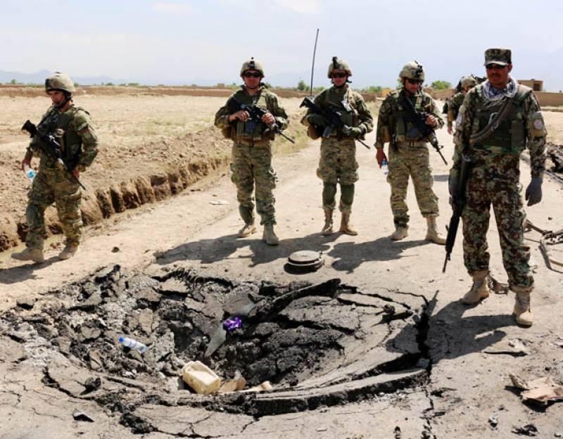 افغانستان: طالبان کا خودکش حملہ' نیٹو فوجی ہلاک' 3 زخمی: جج قتل