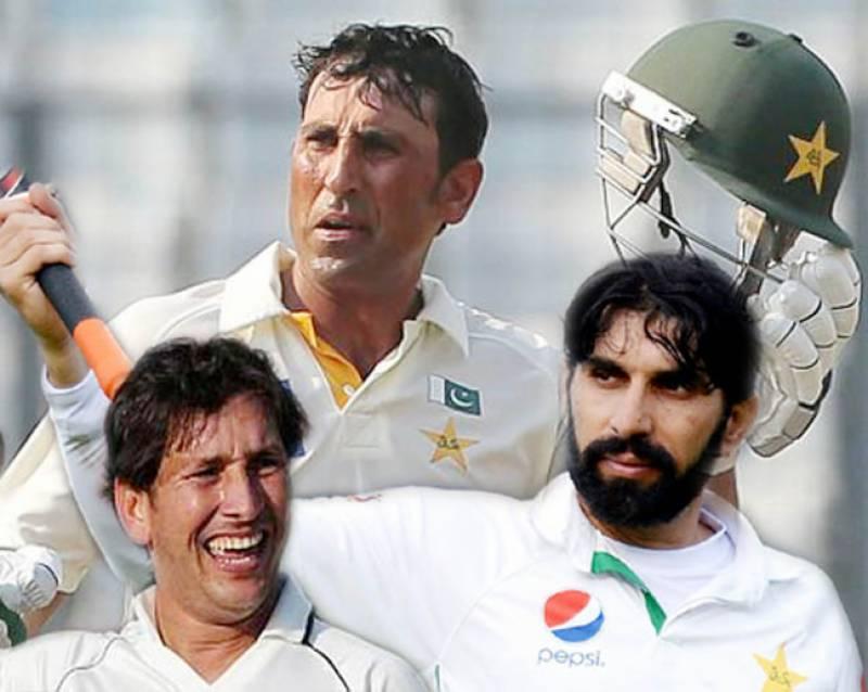 ٹیسٹ رینکنگ: یونس خان دوسرے بہترین بلے باز بن گئے' مصباح' یاسر کی بھی ترقی