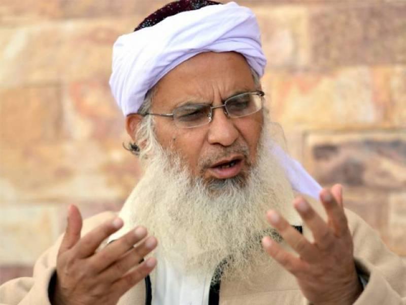 لال مسجد، جامعہ حفصہ نے عمران کے دھرنے میں شرکت کا فیصلہ نہیں کیا: مولانا عبدالعزیز