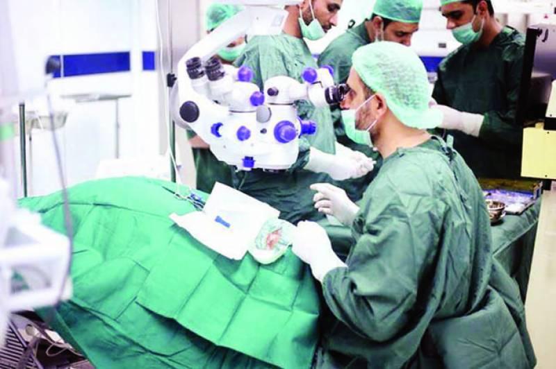 بحریہ انٹرنیشنل ہسپتال میں آنکھوں کا پیچیدہ ترین کامیاب آپریشن