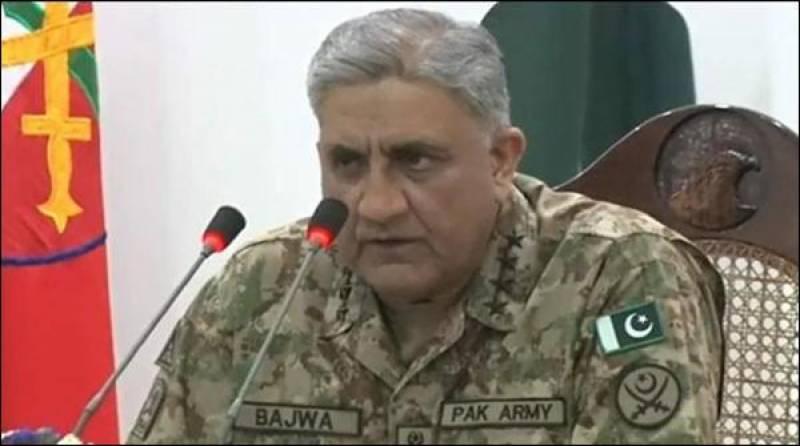 امریکی وفد کے پاکستانی قیادت سے مذاکرات : رکاوٹوں کے باوجود خطے کے امن کیلئے کردار ادا کیا : آرمی چیف