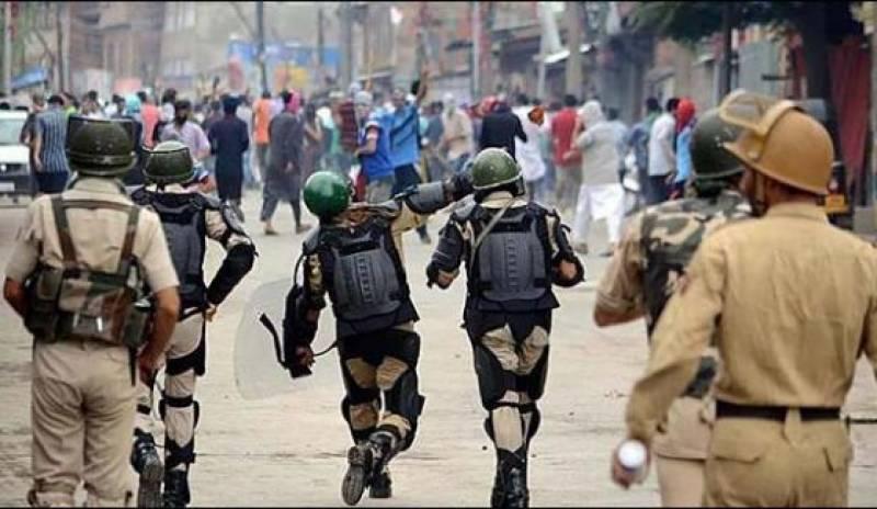 مقبوضہ کشمیر: بھارتی فوج نے 3 نوجوانوں کو غیرملکیوں کے قبرستان میں سپردخاک کر دیا' زبردست مظاہرے' ہڑتال
