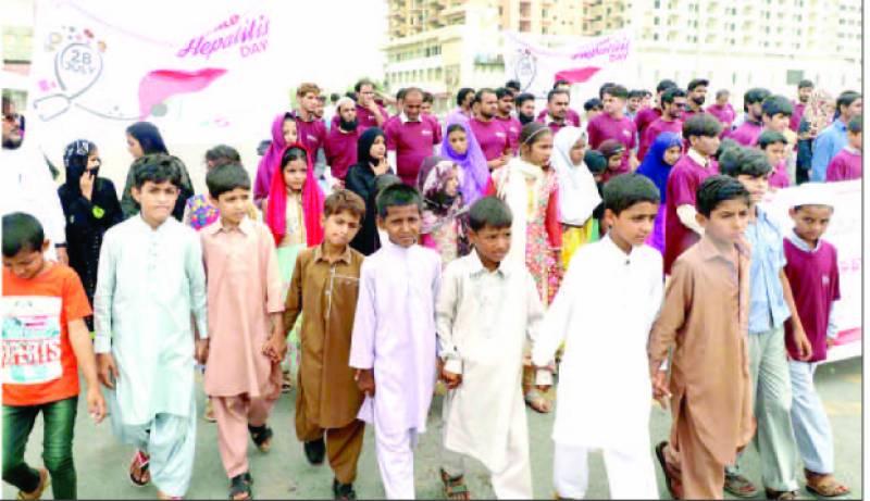 پاکستان میں ہیپاٹائٹس کا مرض روزانہ 111 افراد جان لے رہا ہے