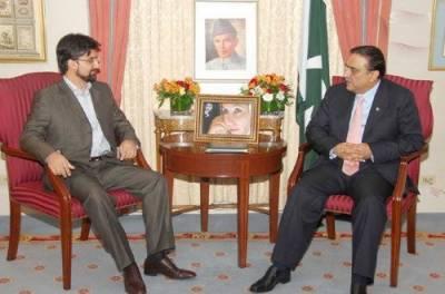 میرواعظ عمرفاروق کی صدر زرداری سے ملاقات ۔۔ کشمیر کی قیمت پر بھارت سے تعلقات بڑھائیں گے نہ تجارت : زرداری
