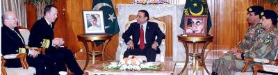 مولن کی صدر وزیراعظم سے ملاقات....بلوچستان میں ڈرون حملوں کی اجازت نہیں دینگے : زرداری' گیلانی