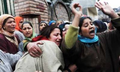 مقبوضہ کشمیر....دوسرے طالب علم کی شہادت پر مظاہرے جاری' لاٹھی چارج' متعدد زخمی