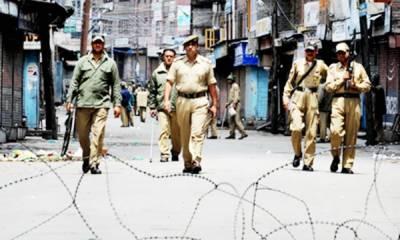 مقبوضہ کشمیر ....مظاہرے جاری' بھارتی فوج سے تصادم میں 48 افراد زخمی' جھڑپوں میں 3 مجاہد شہید