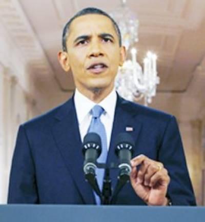 شدت پسندوں کے خلاف کارروائی کیلئے پاکستان پر ڈباﺅ ڈالیں گے: اوباما