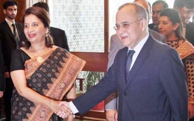 پاکستان اور بھارت کے امن و سلامتی پر مذاکرات' آج کشمیر پر بات ہو گی
