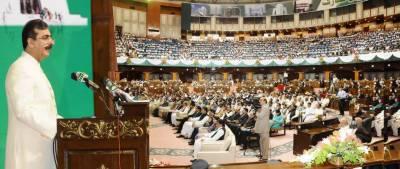 دوستوں کیساتھ تعاون پر تیار ہیں مگر پاکستان کسی کی بھی بالادستی تسلیم نہیں کریگا : وزیراعظم
