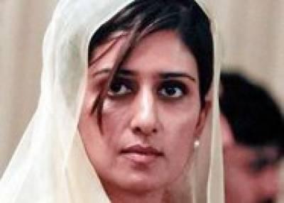 بھارت کو پسندیدہ ترین ملک قرار دینے کا اصولی فیصلہ کر لیا: حنا ربانی کھر