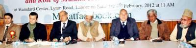 مسلمان فیس بک کا استعمال ترک کر دیں: ہمدرد سنٹر میں کانفرنس