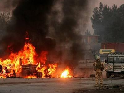 افغانستان میں 3 خودکش حملے' ریموٹ کنٹرول بم دھماکہ' 15 سکیورٹی اہلکاروں سمیت 50 ہلاک' 116 زخمی