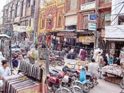 شاہ عالم مارکیٹ، رنگ محل سے تجاوزات کا خاتمہ کیا جائے: محمد لطیف